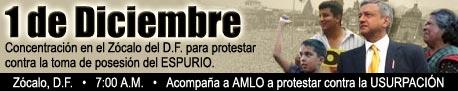 ¡ Protesta contra la imposición Fecal !