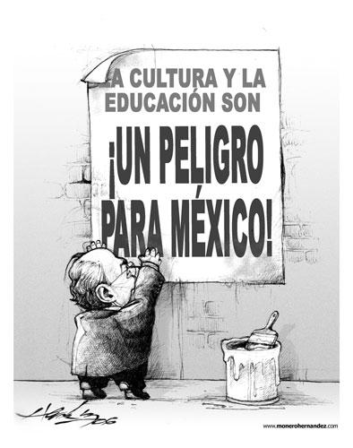 La derecha contra la educación y la cultura