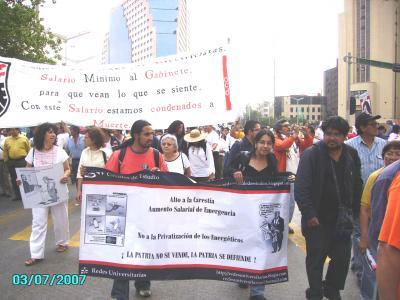 Estuvimos en la marcha del 8 de Marzo