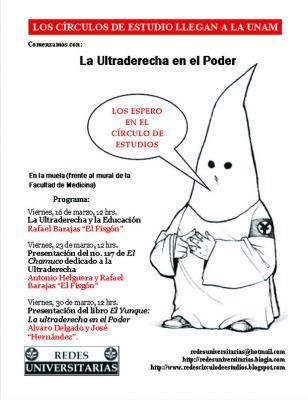 Círculos de Estudio en la UNAM