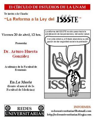 Círculo de Estudios en la UNAM