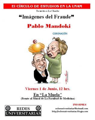 Pablo Mandoki en el Círculo de Estudios de la UNAM