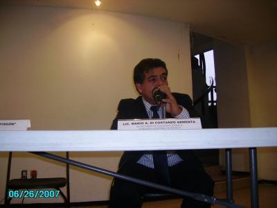 Reseña y fotos de la charla con Di Constanzo!!!
