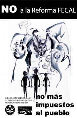 """Cartel sobre """"La Reforma FECAL"""""""
