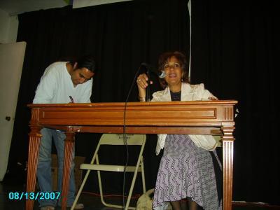 Reseña de la visita de Martha E. Perez Bejarano al