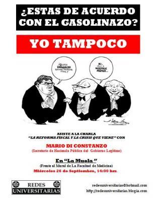 ¿ESTAS DE ACUERDO CON EL GASOLINAZO? YO TAMPOCO