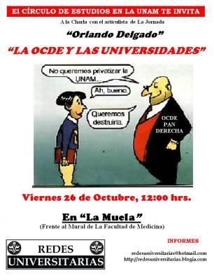 Cìrculo de Estudios en la UNAM