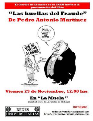 """""""Las Huellas del Fraude"""""""