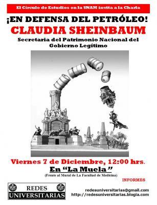 Claudia Sheinbaum en la UNAM