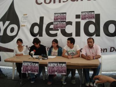 Durante la Conferencia de Prensa realizada el viernes 18 de julio