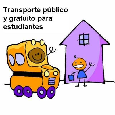 Campaña por el Transporte Público y Gratuito para estudiantes