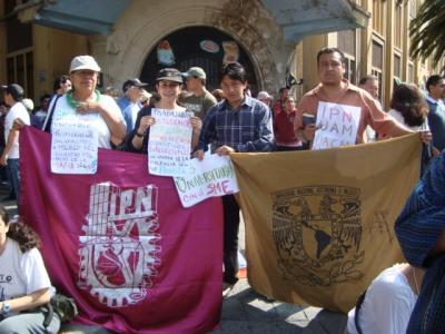 En Defensa del SME y la Universidad Pública