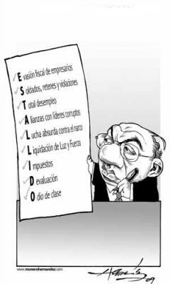 El Monero Hernández en la Prepa 6