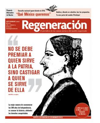 Periódico Regeneración en la UNAM y la UAM