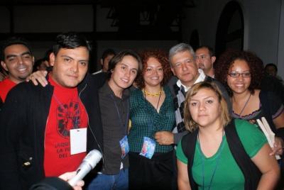 Los jóvenes no somos criminales, solidaridad con Adrián Luján