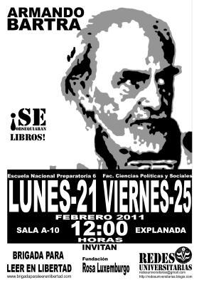 Armando Bartra en Preparatoria 6, de la UNAM