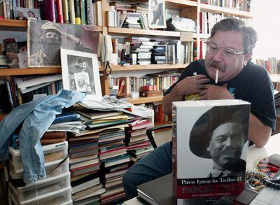Paco Ignacio Taibo II en el Club de Periodistas