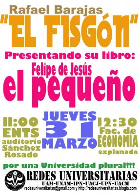 El Fisgón presenta su nuevo libro en Trabajo Social y Economía