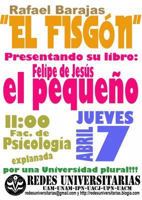 El Fisgón en Psicología de la UNAM