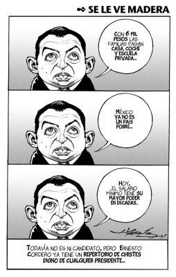 Cordero, no has podido con la crisis que vive el país y asi quieres ser Presidente?