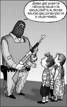 +Educación +Empleo +Cultura y -Militarización