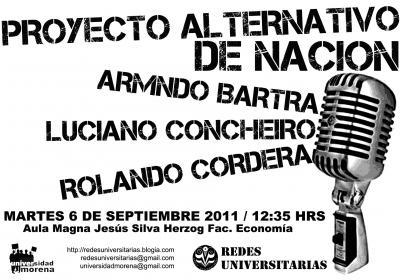 """Presentación del libro """"Proyecto Alternativo de Nación"""" en la UNAM"""