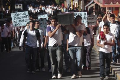 La Coordinación de Estudiantes de MorenaJE condena los asesinatos de los 2 estudiantes de la Normal Rural de Ayotzinapa, Gabriel Echeverría De Jesús y  Jorge Alexis Herrera Pino