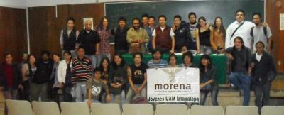 Relatoría de la reunión ordinaria de la coordinadora de MORENA- Estudiantes, 26 de enero