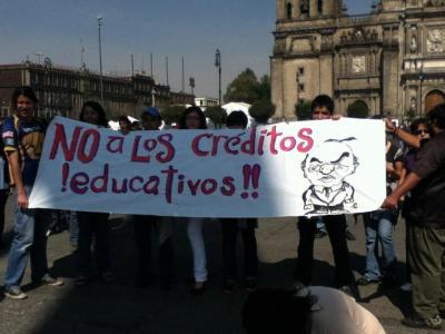 ¿Porque decimos NO a los Créditos Educativos de Calderón?