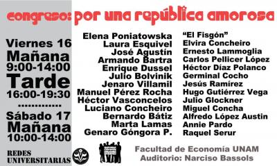Congreso Por una República Amorosa