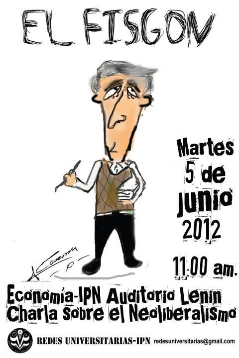 """""""El Fisgón"""" visita Economia del IPN"""